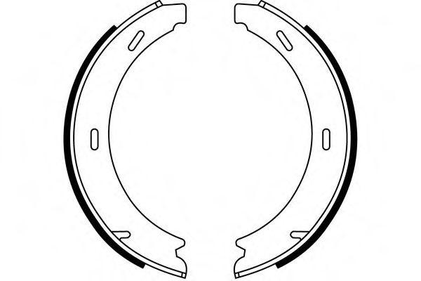 Комплект тормозных колодок SIMER арт.