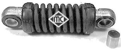 Амортизатор, поликлиновой ремень METALCAUCHO арт. 02931