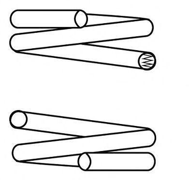 Пружина ходовой части CSGERMANY арт. 14873301