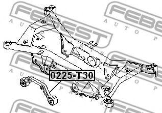 Рычаг независимой подвески колеса, подвеска колеса FEBEST арт. 0225T30