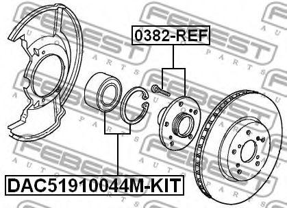 Ступица колеса FEBEST арт. 0382REF