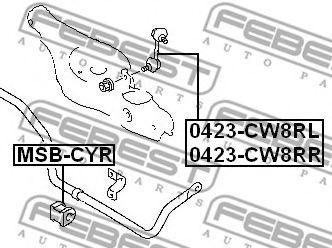 Тяга / стойка, стабилизатор FEBEST арт. 0423CW8RR