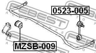 Тяга / стойка, стабилизатор FEBEST арт. 0523005