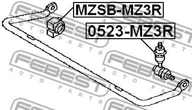Тяга / стойка, стабилизатор FEBEST арт. 0523MZ3R