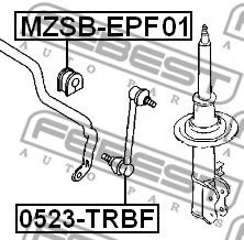 Тяга / стойка, стабилизатор FEBEST арт. 0523TRBF