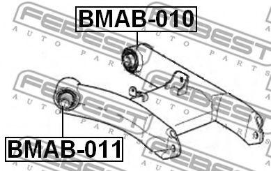 Подвеска, рычаг независимой подвески колеса FEBEST арт. BMAB011
