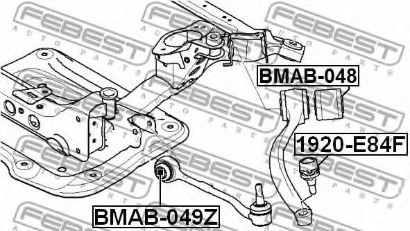 Подвеска, рычаг независимой подвески колеса FEBEST арт. BMAB049Z