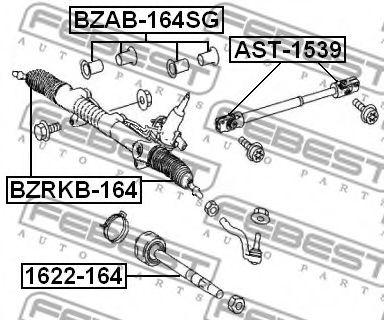Подвеска, рулевое управление FEBEST арт. BZAB164SG