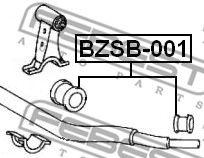 Опора, стабилизатор FEBEST арт. BZSB001