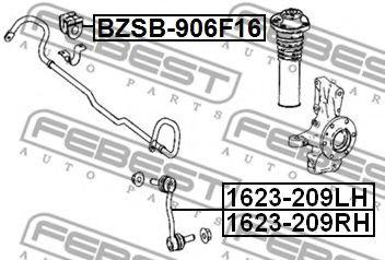 Опора, стабилизатор FEBEST арт. BZSB906F16