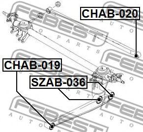 Подвеска, рычаг независимой подвески колеса FEBEST арт. CHAB019