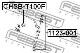 Опора, стабилизатор FEBEST арт. CHSBT100F
