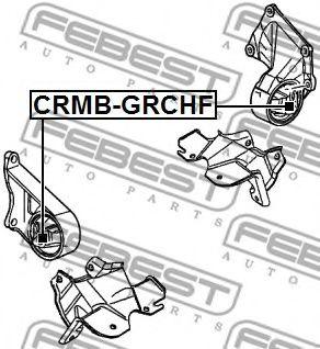 Подвеска, двигатель FEBEST арт. CRMBGRCHF