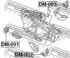Подвеска, двигатель FEBEST арт. DM001
