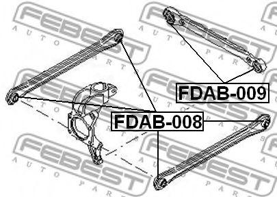 Подвеска, рычаг независимой подвески колеса FEBEST арт. FDAB008