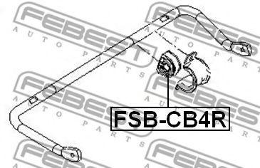 Опора, стабилизатор FEBEST арт. FSBCB4R