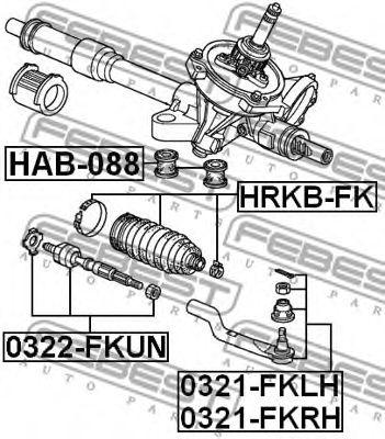 Подвеска, рулевое управление FEBEST арт. HAB088