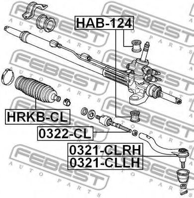 Подвеска, рулевое управление FEBEST арт. HAB124