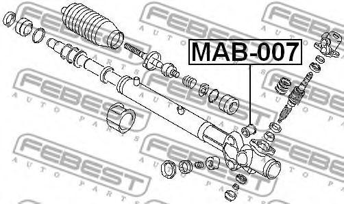 Подвеска, рулевое управление FEBEST арт. MAB007