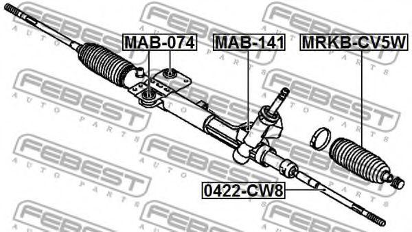 Подвеска, рулевое управление FEBEST арт. MAB141