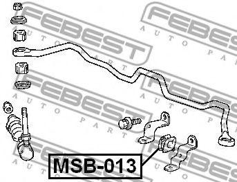 Опора, стабилизатор FEBEST арт. MSB013