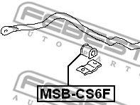 Опора, стабилизатор FEBEST арт. MSBCS6F