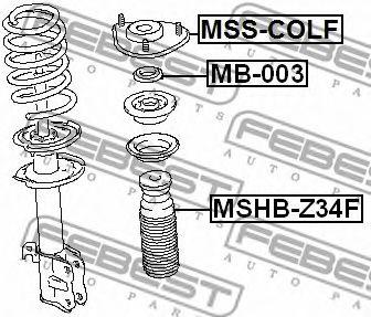 Защитный колпак / пыльник, амортизатор FEBEST арт. MSHBZ34F