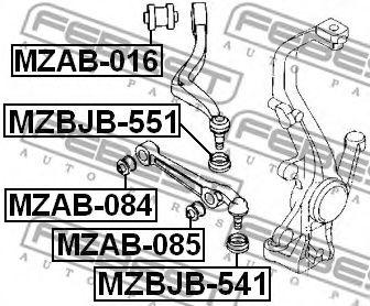 Подвеска, рычаг независимой подвески колеса FEBEST арт. MZAB016