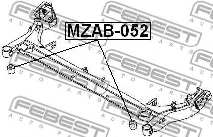 Втулка, балка моста FEBEST арт. MZAB052