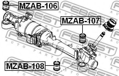 Подвеска, рулевое управление FEBEST арт. MZAB108