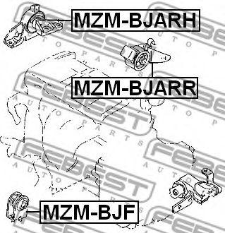 Подвеска, двигатель FEBEST арт. MZMBJF