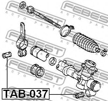 Подвеска, рулевое управление FEBEST арт. TAB037