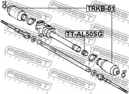 Подвеска, рулевое управление FEBEST арт. TTAL50SG