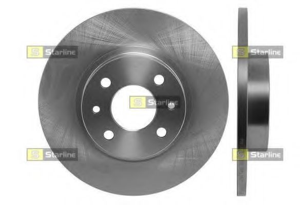 Тормозной диск STARLINE арт. PB1277