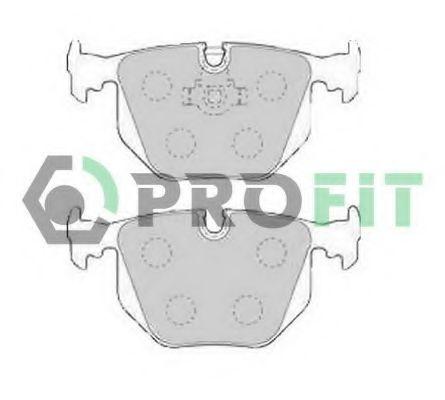 Комплект тормозных колодок, дисковый тормоз PROFIT арт. 50001483