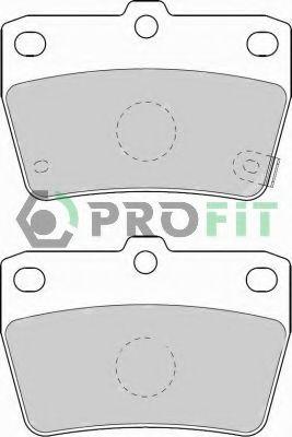 Колодки гальмівні дискові PROFIT 50001531