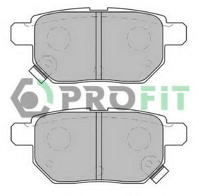 Комплект тормозных колодок, дисковый тормоз PROFIT арт. 50002013C
