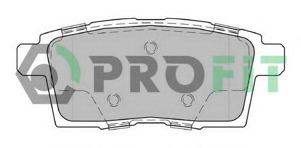 Комплект тормозных колодок, дисковый тормоз арт.