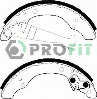 Комплект тормозных колодок PROFIT арт. 50010150