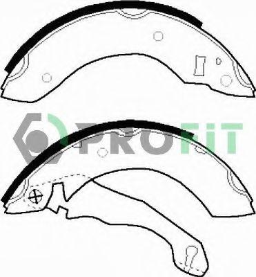 Комплект тормозных колодок PROFIT арт. 50010153