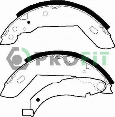 Комплект тормозных колодок PROFIT арт. 50010183