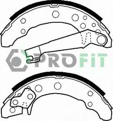 Комплект тормозных колодок PROFIT арт. 50010191