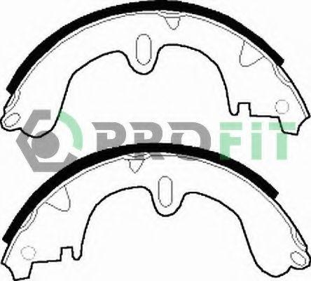 Комплект тормозных колодок PROFIT арт. 50010208