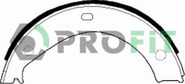 Колодки гальмівні барабанні PROFIT 50010272