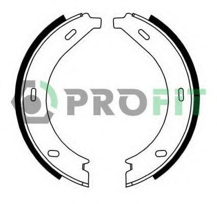 Комплект тормозных колодок PROFIT - 5001-0536