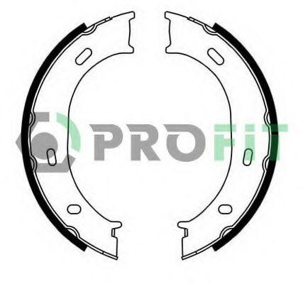 Комплект тормозных колодок PROFIT - 5001-0624