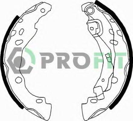Колодки гальмівні барабанні PROFIT 50010642