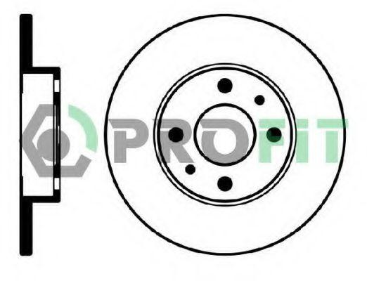 Тормозной диск PROFIT арт. 50100140
