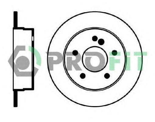 Тормозной диск PROFIT арт. 50100539