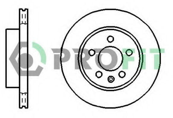 Тормозной диск PROFIT арт. 50100860